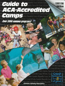 Guide to American Camping Association Accredited Camps, 1997-1998