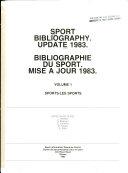 Sport Bibliography: Sports
