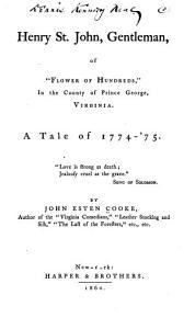 Henry St  John  Gentleman PDF