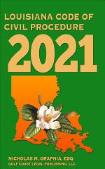 Louisiana Code of Civil Procedure 2021