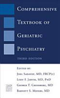 Comprehensive Textbook of Geriatric Psychiatry PDF