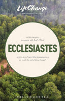 A Life-Changing Encounter with God's Word from the Book of Ecclesiastes