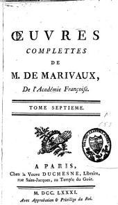 Oeuvres complètes: Volume 7