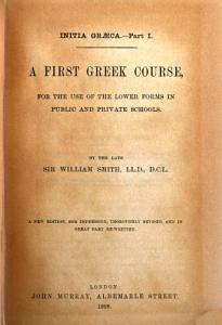 Initia Gr  ca  part i  A first Greek course PDF