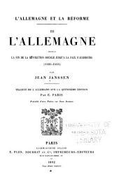 L'Allemagne et la reéforme: Traduit de l'Allemand, Volume3