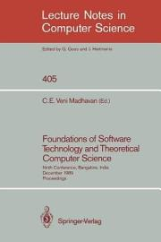 Foundations of Software Technology and Theoretical Computer Science PDF