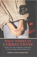 What Works in Corrections PDF