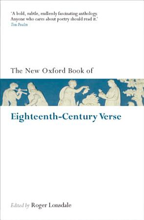 The New Oxford Book of Eighteenth Century Verse PDF