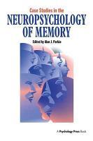 Case Studies in the Neuropsychology of Memory PDF