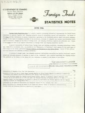Foreign Trade Statistics Notes: Volume 3