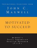 Motivated to Succeed PDF