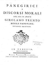 Panegirici e discorsi morali
