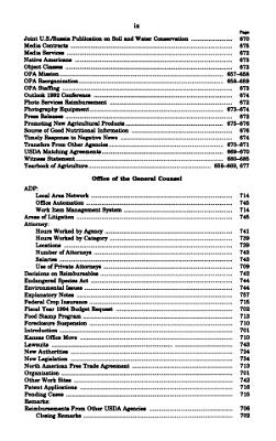 Agriculture  Rural Development  Food and Drug Administration  and Related Agencies Appropriations for 1994 PDF