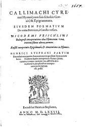 Hymni et epigrammata