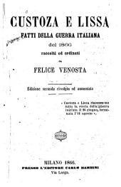 Custoza e Lissa fatti della guerra italiana del 1866