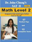 Dr  John Chung s Sat II Math Level 2