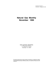 Natural Gas Monthly: November 1996