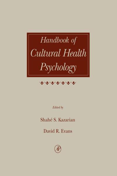 Download Handbook of Cultural Health Psychology Book