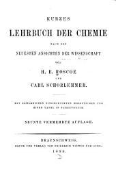 Kurzes Lehrbuch der Chemie nach den neuesten Ansichten der Wissenschaft