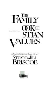 The Family Book of Christian Values PDF