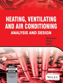 HEATING VENTILATING AND AIR CONDITIONING ANALYSIS AND DESIGN  6TH EDITION PDF