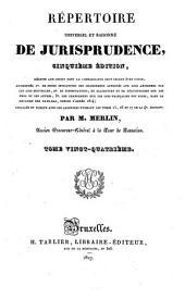 Répertoire universel et raisonné de jurisprudence: Pou - Pre, Volume24