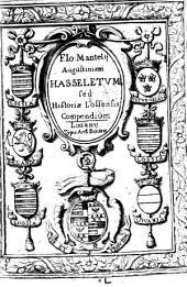 Hasseletum sive eiusdem oppidi descriptio