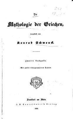 bd  Die mythologie der Griechen PDF
