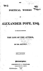 The Poetical Works Of A Pope Book PDF