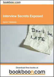 Interview Secrets Exposed Book PDF