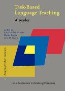 Task based Language Teaching PDF