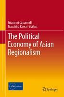 The Political Economy of Asian Regionalism PDF