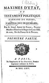 Doutes nouveaux sur le testament attribué au cardinal de Richelieu. Par M. de Voltaire