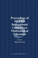 Proceedings of the Fifth International Congress on Mathematical Education PDF