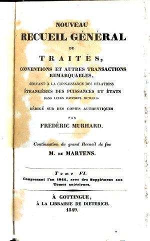 Nouveau recueil g  n  ral de trait  s  conventions et autres transactions remarquables
