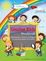Genius Kids Worksheets  Bundle  for Class 1  Grade 1    Set of 6 Workbooks  English  Mathematics and Science  PDF