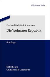 Die Weimarer Republik: Ausgabe 8