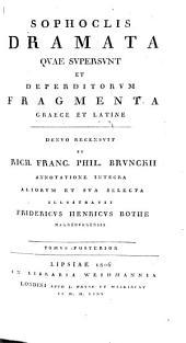 Dramata quae supersunt et deperditorum fragmenta Graece et Latine: Τόμος 2