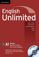 English Unlimited Starter A and B Teacher's Pack (Teacher's Book with DVD-ROM)