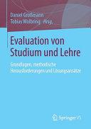 Evaluation von Studium und Lehre PDF