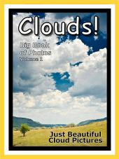 Just Clouds! vol. 1: Big Book of Sky Cloud Photographs & Pictures