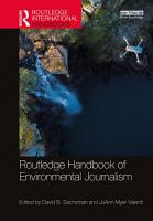 Routledge Handbook of Environmental Journalism PDF