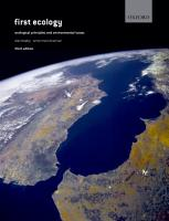 First Ecology PDF