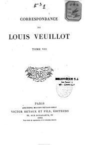 Correspondance de Louis Veuillot ...