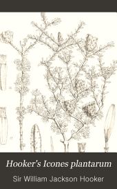 Hooker's Icones Plantarum: Volume 23