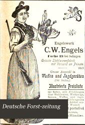 Deutsche Forst-Zeitung: Band 15