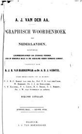 Biographisch woordenboek der Nederlanden, bevattende levensbeschrijvingen van zoodanige personen, die zich op eenigerlei wijze in ons vaderland hebben vermaard gemaakt: Volume 17