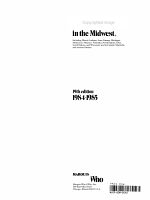 Who's Who in the Midwest, 1984-1985