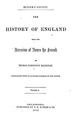 The History of England from the Accession of James II  PDF