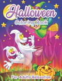 Halloween Coloring Book For Adults Relaxation